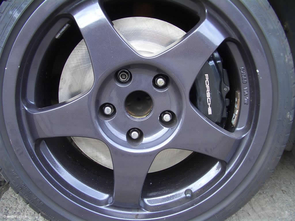 Porsche front caliper supra 325mm disc